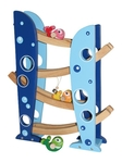 Marble Run with Bells Rolling Fish