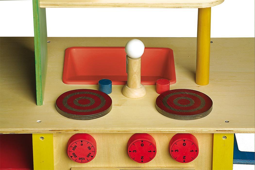 Houten Speelgoed Keuken : Houten speelgoed keuken alles in een geel donk toyshop
