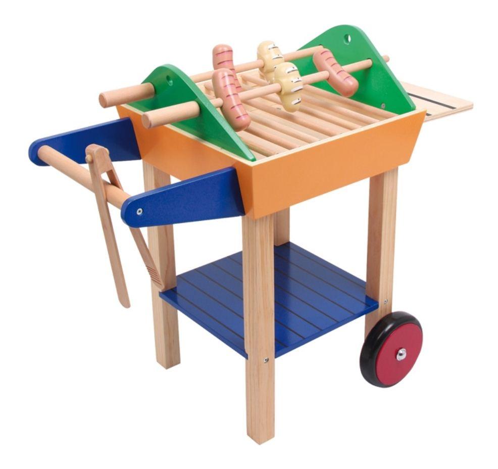 Houten Keuken Speelgoed : houten speelgoed barbecue mooie grote houten speelgoed barbecue
