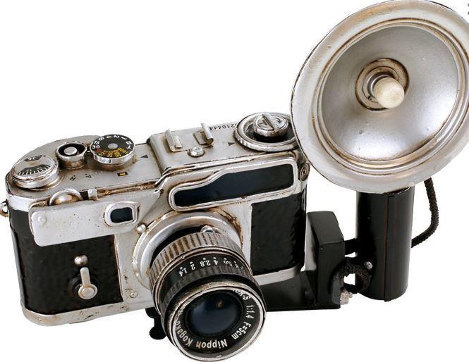 Vintage Decoratie Nikon Nikkor Kamera Donk Toyshop